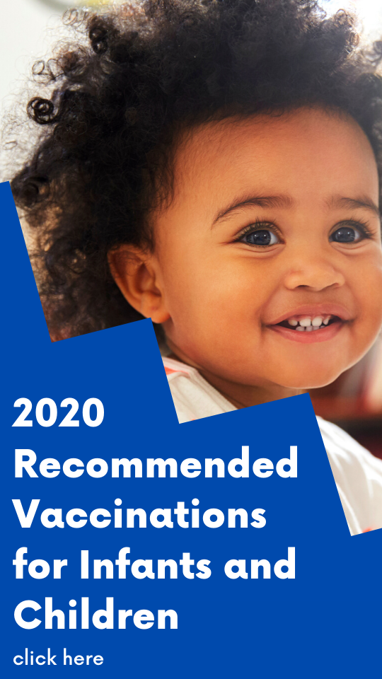2020 Recommended Vaccination Schedule